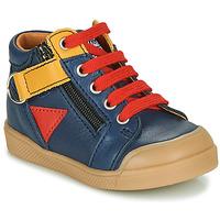 Schoenen Jongens Hoge sneakers GBB TIMOTHE Blauw
