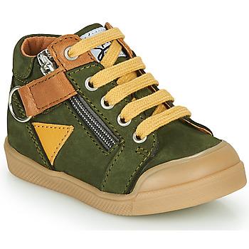 Schoenen Jongens Hoge sneakers GBB TIMOTHE Groen