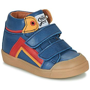 Schoenen Jongens Hoge sneakers GBB ERNEST Blauw