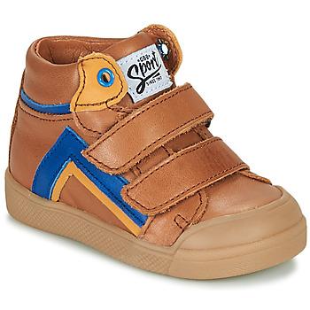 Schoenen Jongens Hoge sneakers GBB ERNEST Brown
