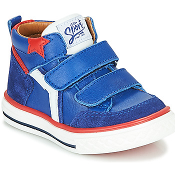 Schoenen Jongens Hoge sneakers GBB FLAVIO Blauw