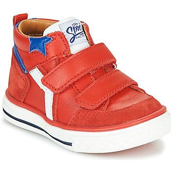 Schoenen Jongens Hoge sneakers GBB FLAVIO Rood