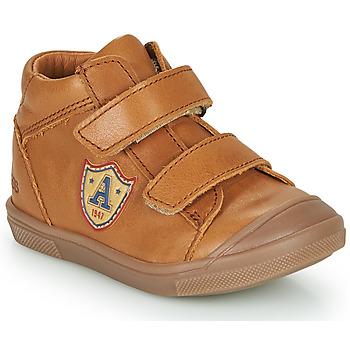 Schoenen Jongens Hoge sneakers GBB LAUREL Brown