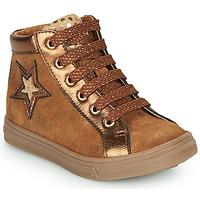 Schoenen Meisjes Hoge sneakers GBB TADEA Brown