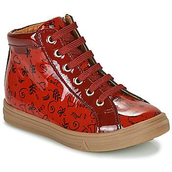 Schoenen Meisjes Hoge sneakers GBB PHILEMA Rood