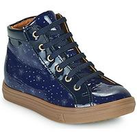 Schoenen Meisjes Hoge sneakers GBB PHILEMA Blauw
