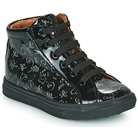 Schoenen Meisjes Hoge sneakers GBB PHILEMA Zwart