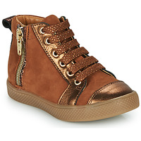 Schoenen Meisjes Hoge sneakers GBB SAVIA Brown