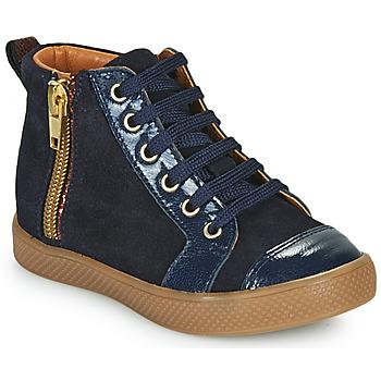 Schoenen Meisjes Hoge sneakers GBB SAVIA Blauw