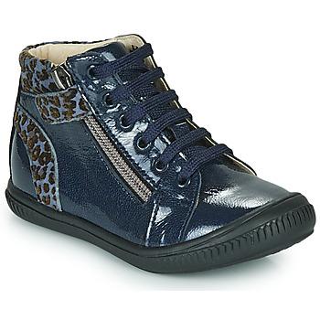 Schoenen Meisjes Hoge sneakers GBB RACHIDA Blauw