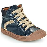 Schoenen Meisjes Hoge sneakers GBB VIVENA Blauw