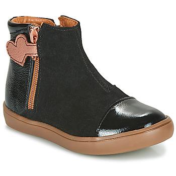 Schoenen Meisjes Laarzen GBB OKITA Zwart