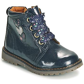 Schoenen Meisjes Hoge sneakers GBB MOIRA Blauw