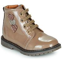 Schoenen Meisjes Hoge sneakers GBB MOIRA Beige