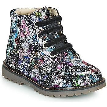 Schoenen Meisjes Hoge sneakers GBB NAREA Zwart