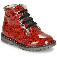 Schoenen Meisjes Hoge sneakers GBB NAREA Rood