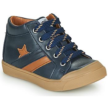 Schoenen Jongens Hoge sneakers GBB LEON Blauw