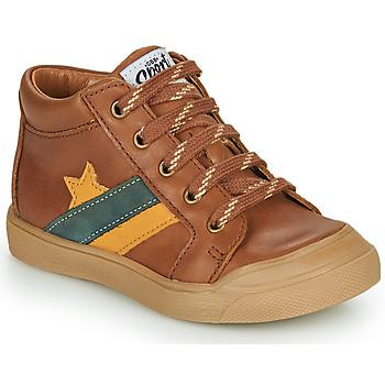 Schoenen Jongens Hoge sneakers GBB LEON Brown