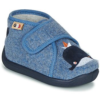 Schoenen Kinderen Sloffen GBB APOCHOU Blauw