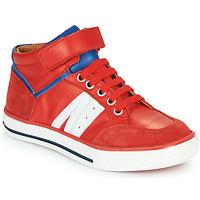 Schoenen Jongens Hoge sneakers GBB ALIMO Rood