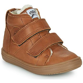 Schoenen Jongens Hoge sneakers GBB DIEGGO Brown