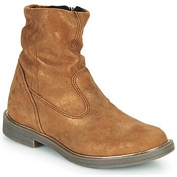 Schoenen Meisjes Laarzen GBB MICKY Brown