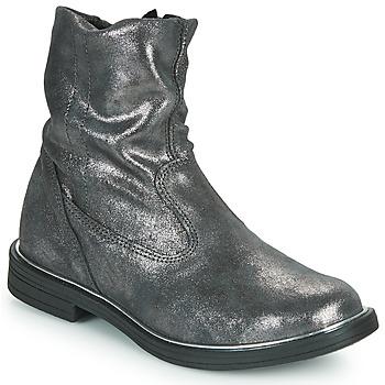 Schoenen Meisjes Laarzen GBB MICKY Grijs