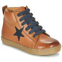 Schoenen Jongens Hoge sneakers GBB KANY Brown