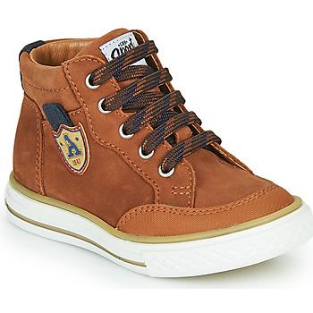 Schoenen Jongens Hoge sneakers GBB NATHAN Brown