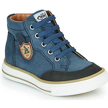 Schoenen Jongens Hoge sneakers GBB NATHAN Blauw