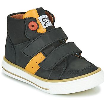 Schoenen Jongens Hoge sneakers GBB KIMMY Zwart