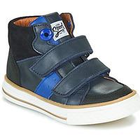 Schoenen Jongens Hoge sneakers GBB KIMMY Blauw