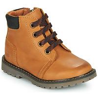 Schoenen Jongens Hoge sneakers GBB CORRY Geel