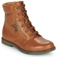 Schoenen Meisjes Hoge sneakers GBB JAMILA Brown