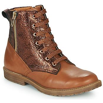 Schoenen Meisjes Hoge sneakers GBB ANASTY Brown