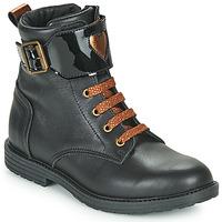Schoenen Meisjes Hoge sneakers GBB DOZZY Zwart
