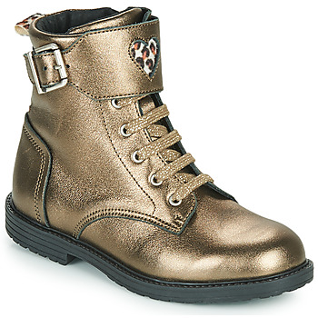 Schoenen Meisjes Hoge sneakers GBB DOZZY Goud