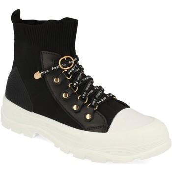 Schoenen Dames Hoge sneakers Buonarotti 1CD-1076 Negro
