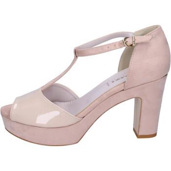 Schoenen Dames Sandalen / Open schoenen Olga Rubini Sandales BJ397 Beige