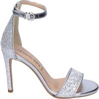 Schoenen Dames Sandalen / Open schoenen Olga Rubini Sandales BJ401 Argent