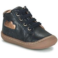 Schoenen Meisjes Hoge sneakers GBB APOLOGY Blauw