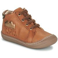 Schoenen Meisjes Hoge sneakers GBB APOLOGY Brown
