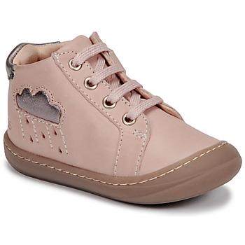 Schoenen Meisjes Hoge sneakers GBB APOLOGY Roze