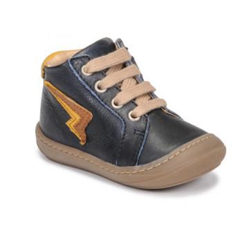 Schoenen Jongens Hoge sneakers GBB APODAMI Blauw
