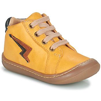 Schoenen Jongens Hoge sneakers GBB APODAMI Geel
