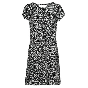 Textiel Dames Korte jurken Only ONLNOVA Wit / Zwart
