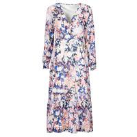 Textiel Dames Lange jurken Only ONLZOE Wit / Multicolour