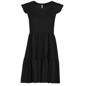 Textiel Dames Korte jurken Only ONLMAY Zwart