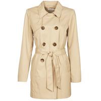 Textiel Dames Trenchcoats Only ONLVALERIE Beige