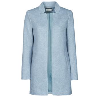 Textiel Dames Mantel jassen Only ONLSOHO Blauw